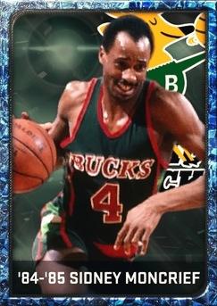 '84-'85 Sidney Moncrief sapphire card