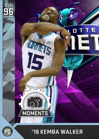 '16 Kemba Walker diamond card