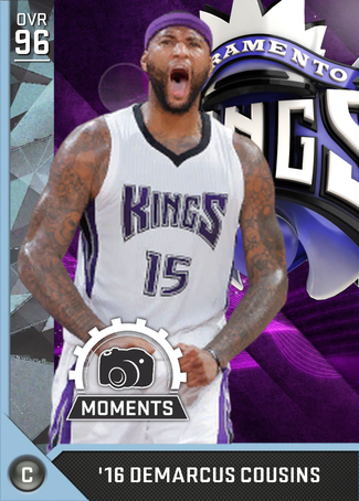'16 DeMarcus Cousins diamond card