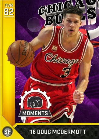 '16 Doug McDermott gold card