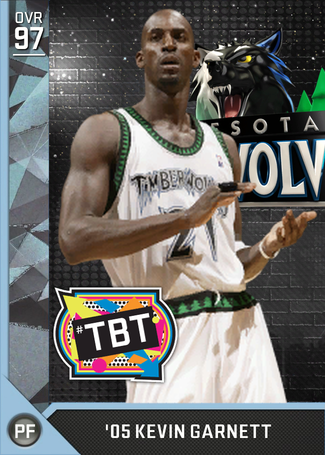 '05 Kevin Garnett diamond card