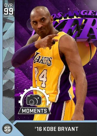 '16 Kobe Bryant diamond card