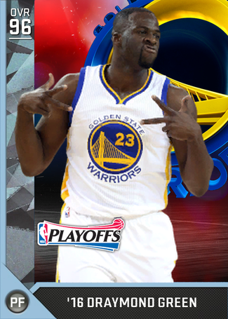 '16 Draymond Green diamond card