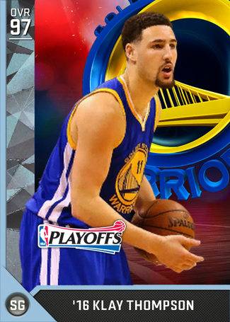 '16 Klay Thompson diamond card