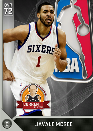 JaVale McGee silver card