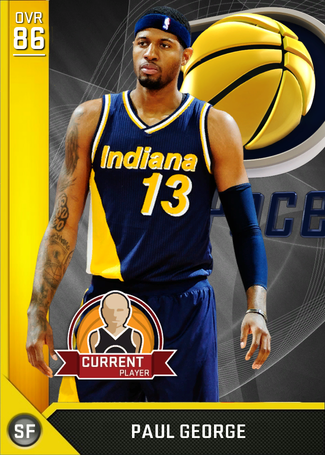 Paul George gold card
