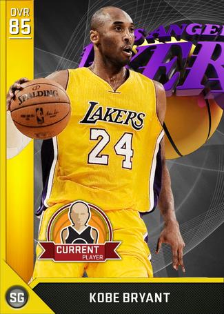 Kobe Bryant gold card