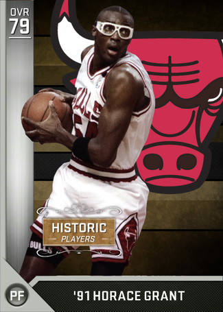 '91 Horace Grant silver card