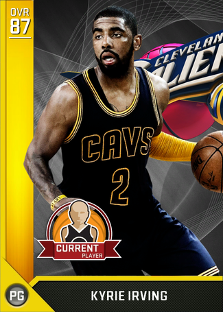Kyrie Irving gold card