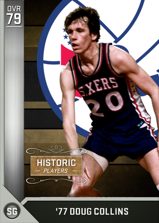 '77 Doug Collins silver card