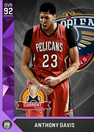 Anthony Davis amethyst card