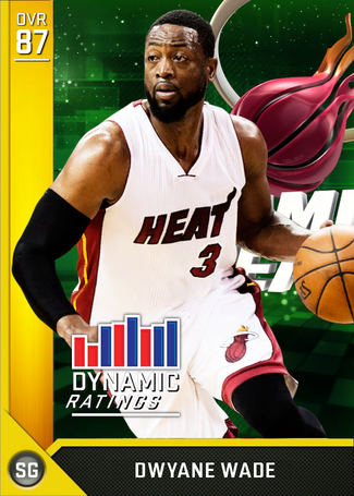 Dwyane Wade gold card
