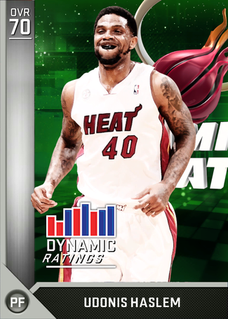 Udonis Haslem silver card