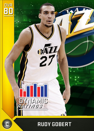 Rudy Gobert gold card