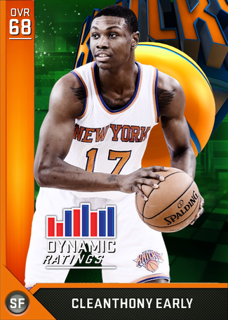 Cleanthony Early bronze card