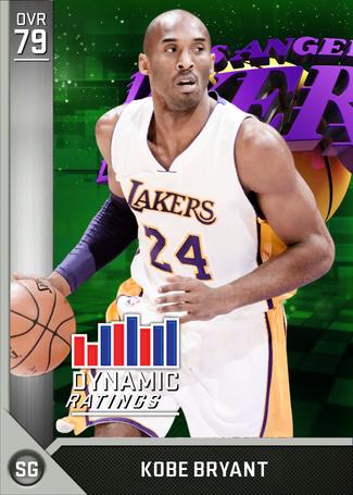 Kobe Bryant silver card