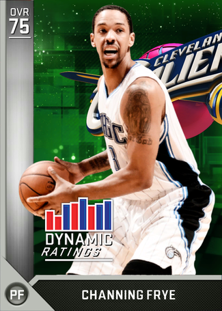 Channing Frye silver card