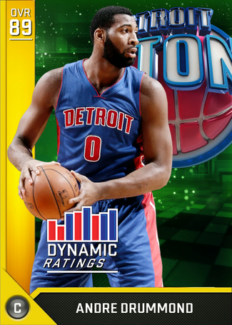 Andre Drummond gold card