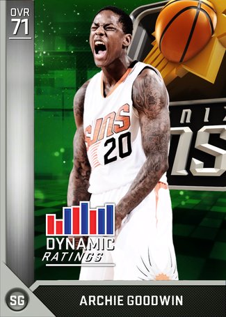 Archie Goodwin silver card