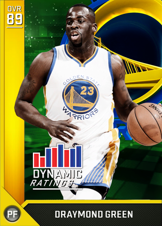 Draymond Green gold card