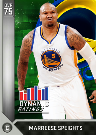 Marreese Speights silver card
