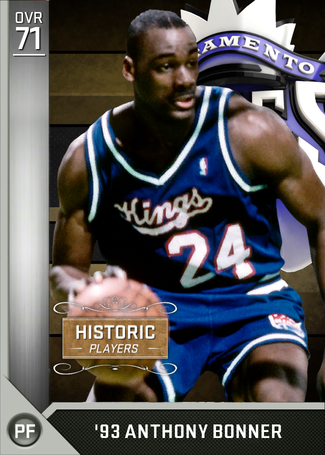 '93 Anthony Bonner silver card