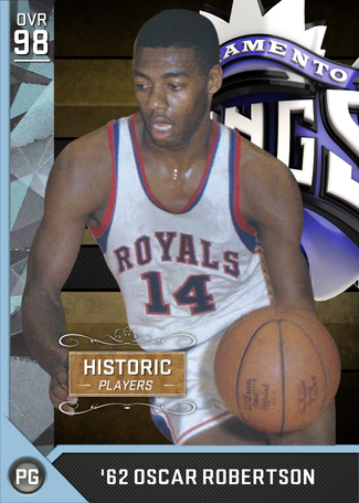 '62 Oscar Robertson diamond card