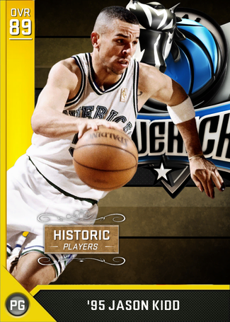 '95 Jason Kidd gold card