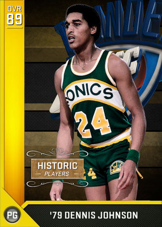 '79 Dennis Johnson gold card