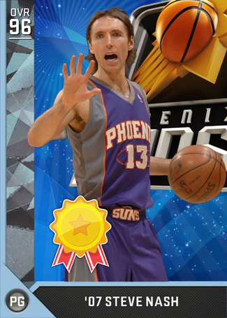 '07 Steve Nash diamond card
