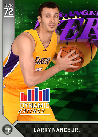 Larry Nance Jr. silver card