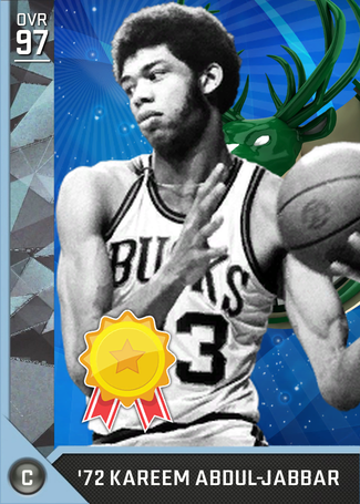 '72 Kareem Abdul-Jabbar diamond card