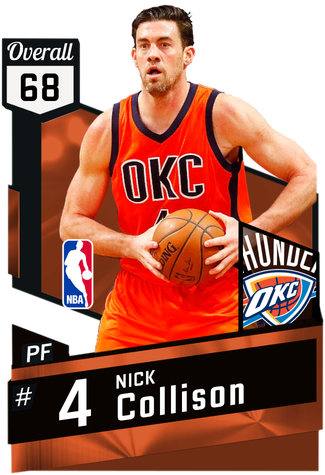 Nick Collison bronze card