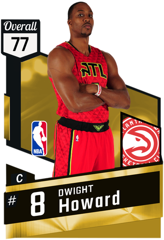 Dwight Howard gold card