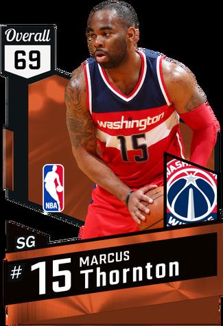 Marcus Thornton bronze card