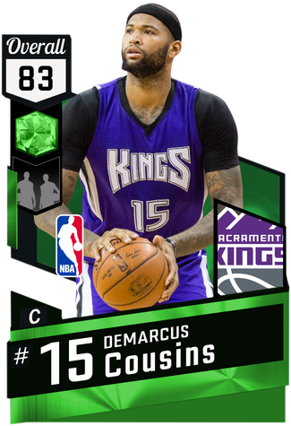 DeMarcus Cousins emerald card