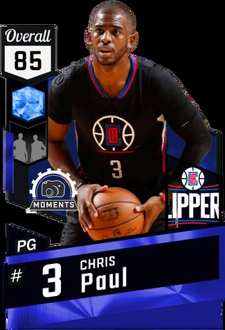 Chris Paul sapphire card