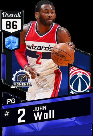 John Wall sapphire card