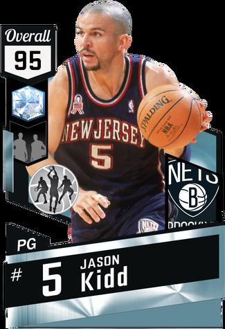 '95 Jason Kidd diamond card