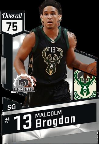 Malcolm Brogdon silver card