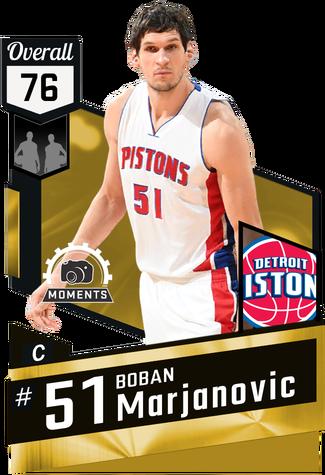Boban Marjanovic gold card