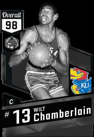 '55 Wilt Chamberlain onyx card