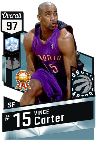 '00 Vince Carter diamond card