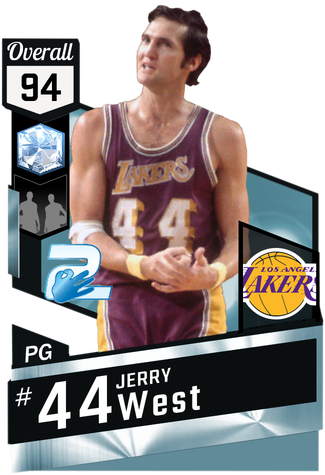 '71 Jerry West diamond card