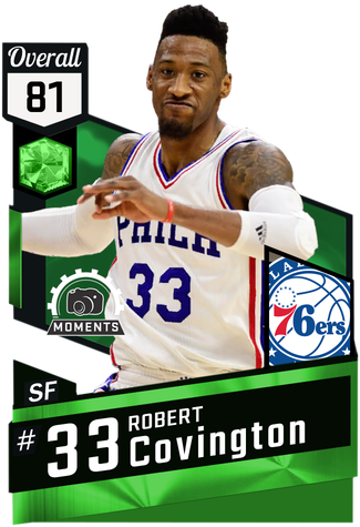 Robert Covington emerald card