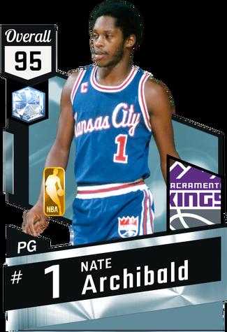 '73 Nate Archibald diamond card