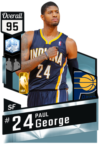 Paul George diamond card