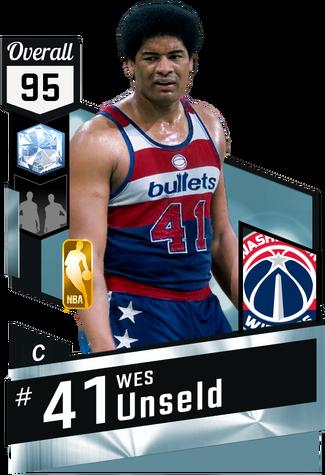 '69 Wes Unseld diamond card