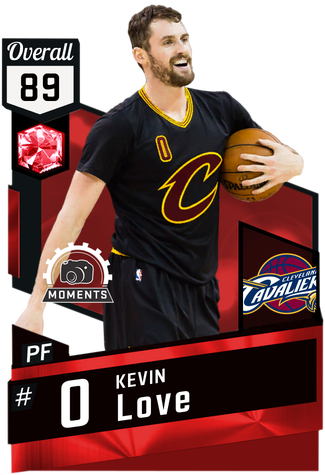 Kevin Love ruby card