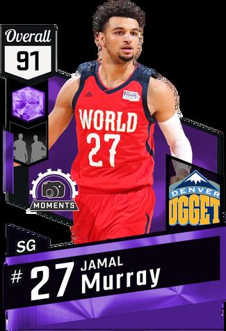 Jamal Murray amethyst card